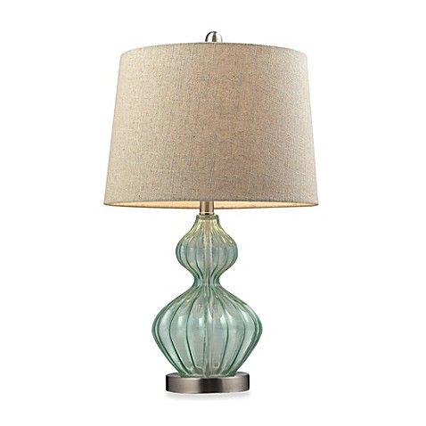 Table Lamp In Pale Green With Images