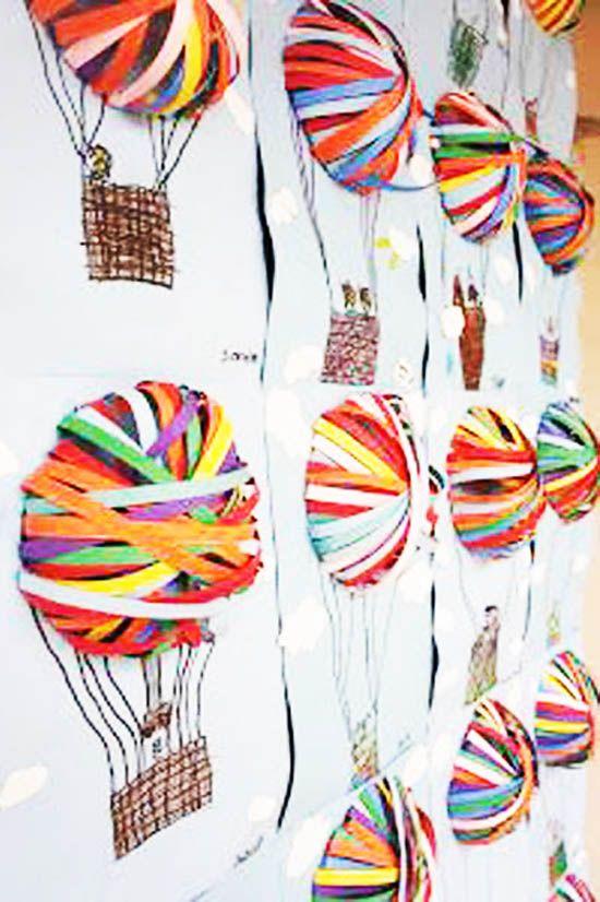 Balon Yapimi Ilkbahar Elisleri Balonlar Ve Temel Sanat