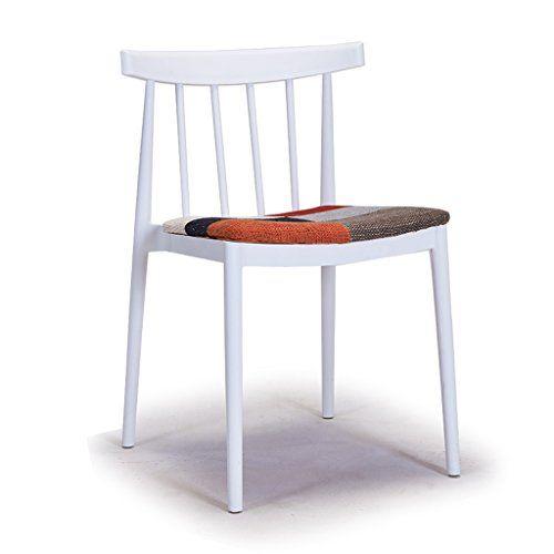Cjh Modern Minimalist Casual Plastic Dining Chair Restaurant