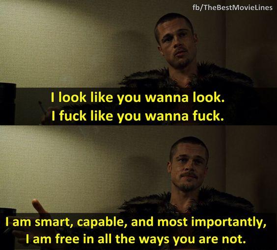 - Fight Club 1999  Brad Pitt Edward Norton Helena Bonham Carter