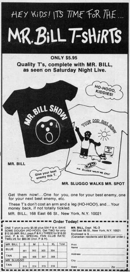 Oh no! Mr Bill! (1980)
