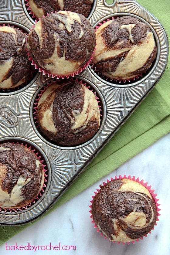 You can't resist that chocolate swirl. Get the recipe from Baked By Rachel.   - Delish.com