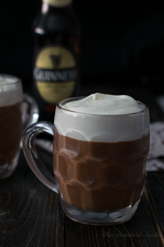 The Sweetest Taste: Mousse de chocolate y Guinness