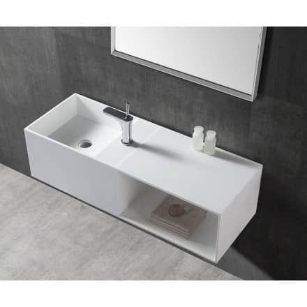Vasque A Poser Bernstein Badshop Com Sink Solid Surface Vanity