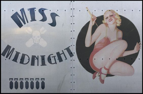 Image detail for -Vintage Airplane Nose Art