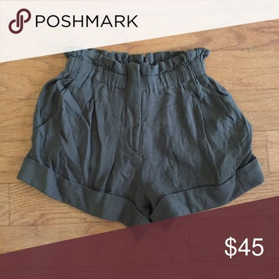 Soft high waisted shorts | Shorts, D and Bar