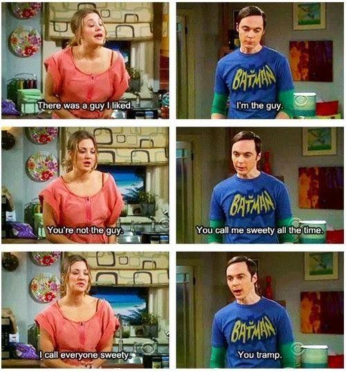 Aww, Sheldon?! :) I love you.
