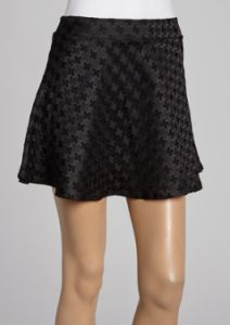 houndstooth skirt BLACK & WHITE SEPARATES AS LOW AS $9.99 ~