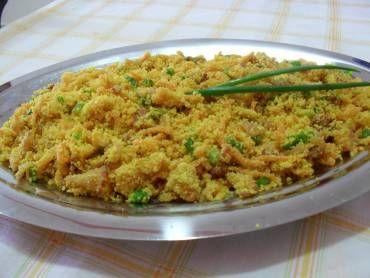 Receita de Farofa de Cenoura - Tudo Gostoso