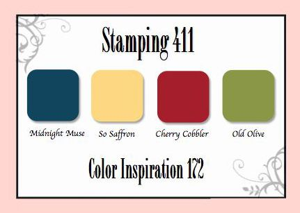 Stamping 411: Color Inspiration Challenge