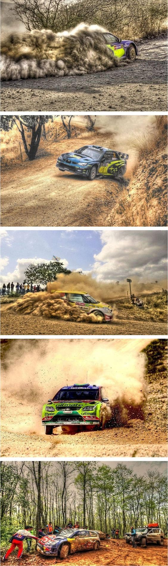 WRC Cars in HDR