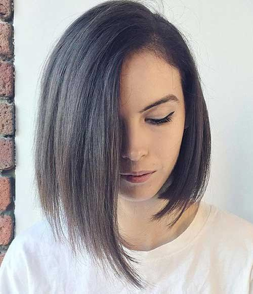 Bob Hairstyles Are The Best Adopted Haircuts For Contempo Years Abounding Women All About The Apple Accept A Hair Styles Straight Hairstyles Short Hair Styles