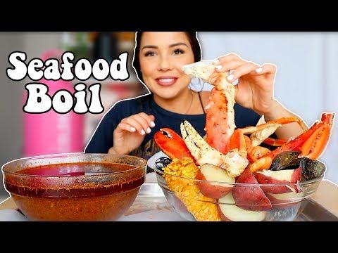 Seafood Boil Bloves Seafood Sauce 먹방 Mukbang Youtube Veronica Wang Seafood Boil Mukbang Seafood Sauce Seafood Boil Seafood Sauce Recipe