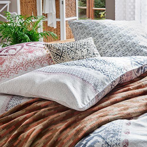 Ethno Living Schlafzimmer Einrichten Wohnen Und Kissen Decken