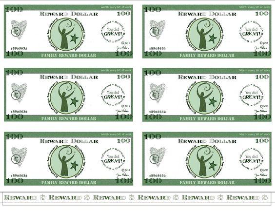 Mom bucks 1 dollar bills bing images for Classroom bucks template