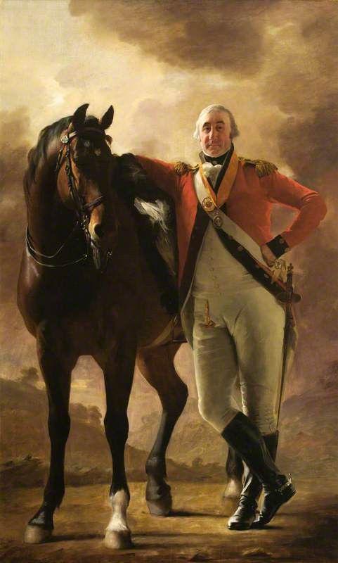 Sir General William Maxwell (1754–1837), 6th Bt of Calderwood. by Sir Henry #Raeburn