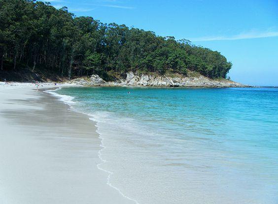 Playa de Figueiras en las Islas Cíes