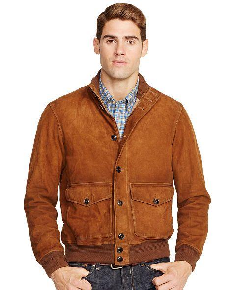 Suede Skeet Jacket - Polo Ralph Lauren Leather \u0026amp; Suede - RalphLauren.com