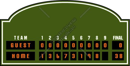 scoreboard Printables Images Fonts Pinterest - scoreboard template