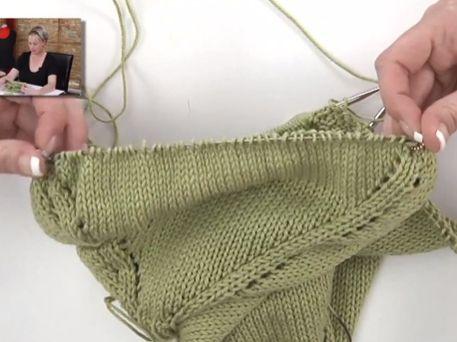 Knitting Patterns Tutorial : Best Knitting Blogs Top-Down Sweater Knitting Pattern for Women - Video Tut...