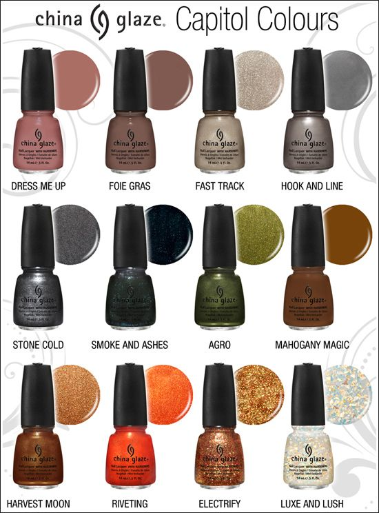 loved the hunger games books. cant wait for the movies and i want the nail polish!