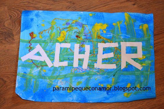 Para mi peque con amor: Pintar con esponja