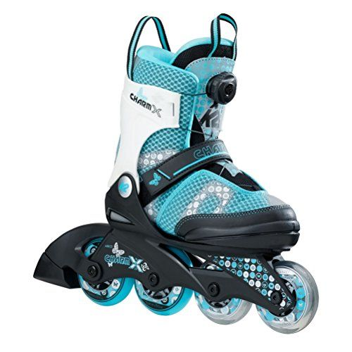 K2 Skate Charm X Boa Children Inline Skates Size 112 Blackblue You Can Find Out More Details At The Link Of The Image Th Patines Para Niños Patinar Niños