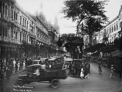 Rio de Janeiro Antigo: Avenida Rio Branco em 1923 - fotos do Rio antigo