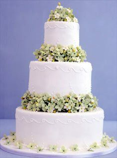 Cake Budding Blossoms