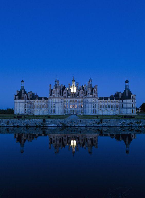 Río Loira, Francia: Of Chambord, Valle Del, Chateau De, Castle, Chambord Castle