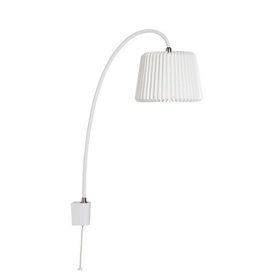 """Le Klint - 220V """"Snowdrop"""" væglampe - hvid"""