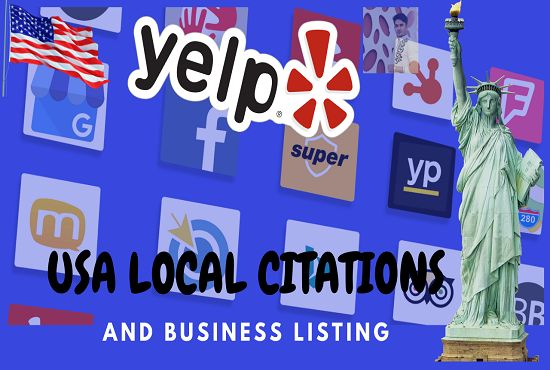 Google My Business And Top Local Citations For Usa Local Map Yext Local Seo Services