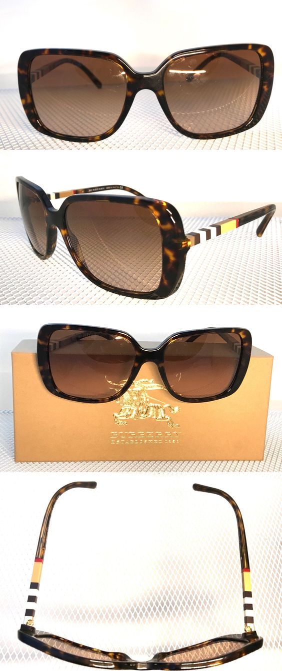 d0cddc0237 Eyewear Accessories 179249  Burberry Be4198 Spotted Amber Brown Sunglasses  Tortoise New -  BUY IT NOW ONLY   159.95 on eBay!