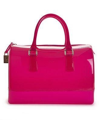 Furla Handbag, Candy Bauletto Satchel - All Handbags - Handbags & Accessories - Macy's
