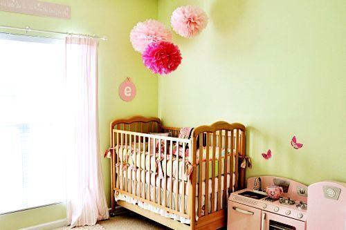 Sweet vintage-inspired nursery