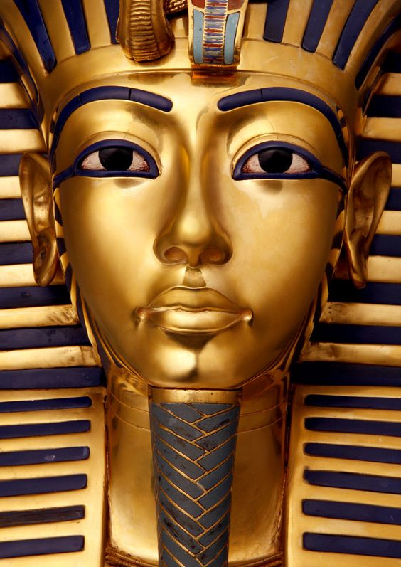 "Tutankhamen. Every other kid in Social Studies was listening to the teacher; I was staring at this picture and thinking, ""If that's what he really looked like, he was good looking!"":"