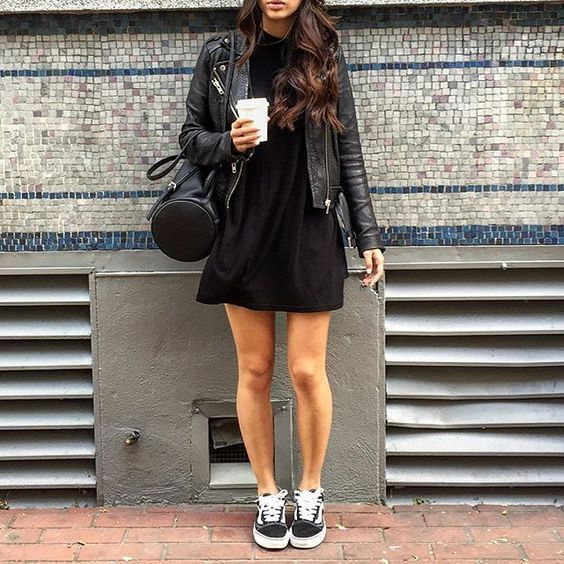 Dresses with vans, Old skool outfit