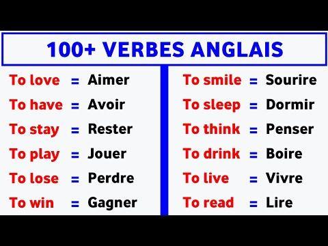 100 Verbes Les Plus Utilises En Anglais 100 Most Used Verbs In English 100 Phrases Youtube Verbe Phrase Verbes Anglais