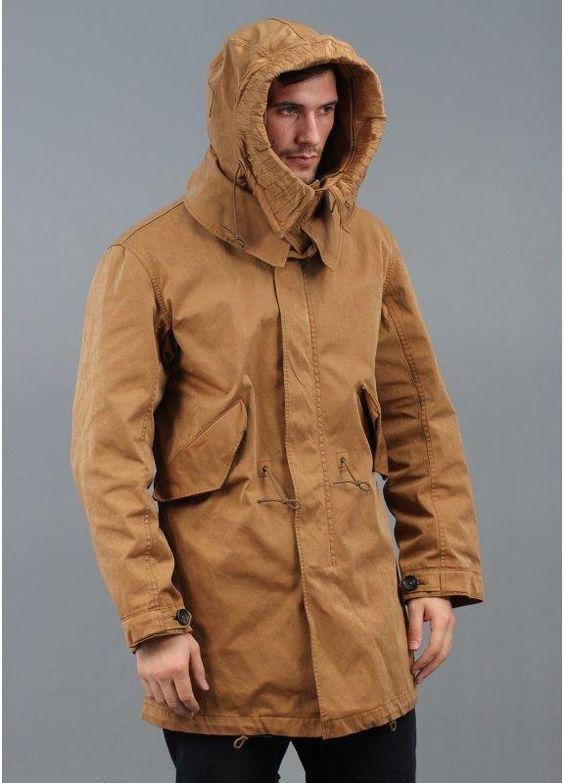Ten C Fishtail Parka Jacket Brown | Coat | Pinterest | Fishtail ...
