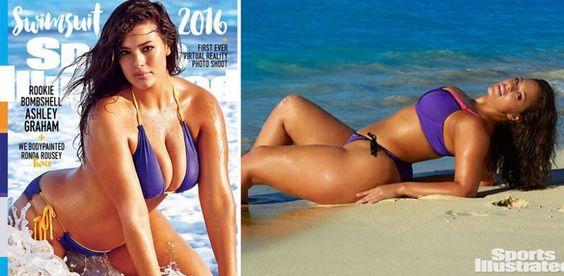 Sie ziert als erstes Plus-Size-Model das Cover der Sports Illustrated