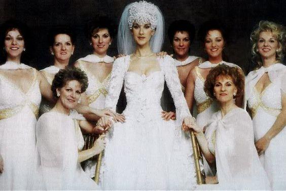 Celine Dions Wedding Dress
