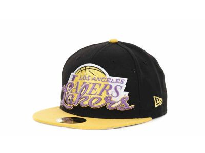 Los Angeles Lakers NBA Hardwood Classics Punch 59FIFTY Hats