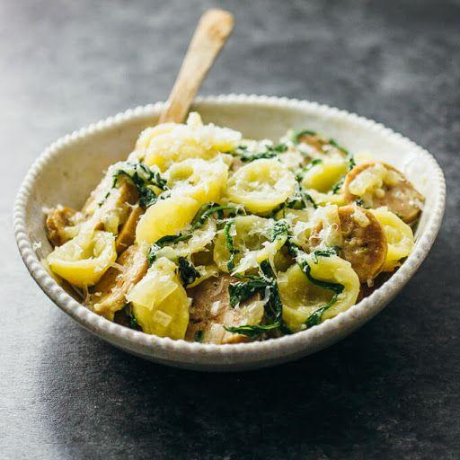 Orecchiette Pasta With Sausage Recipe Yummly Recipe Orecchiette Recipes Sausage Pasta Pasta Recipes
