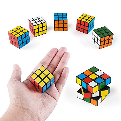 Mini Color 3x3 Cube Puzzle Game Toy For Party Favors 6 Pack You Can Get Additional Details At The I Birthday Party Games Christmas Party Supplies Cube Puzzle