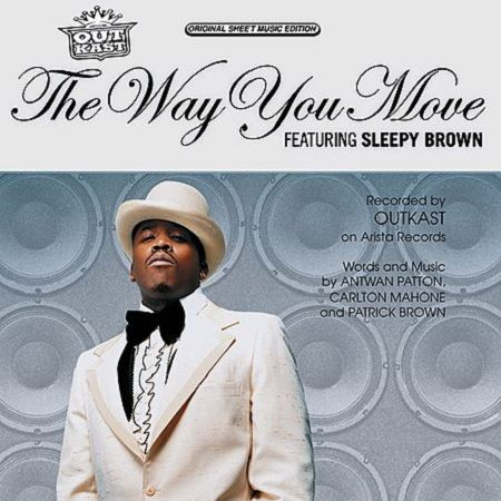 OutKast, Sleepy Brown – The Way You Move (single cover art)