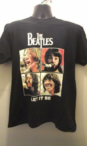 THE BEATLES T Shirt - Let It Be