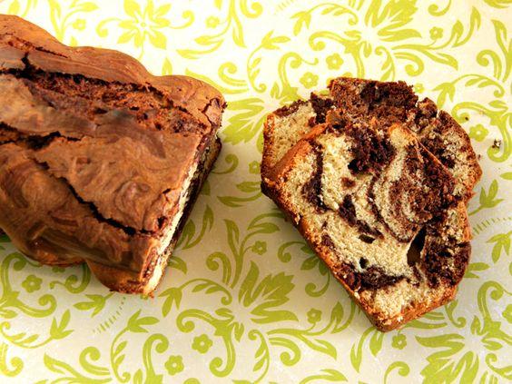 Marbré chocolat/vanille