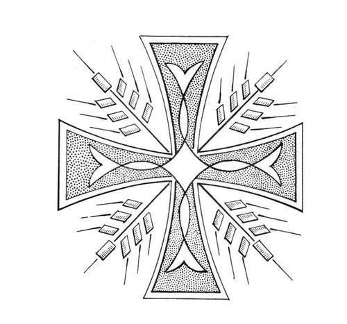 Dise o de bordado religioso para bordar buscar con google bordado religioso pinterest - Cenefas para dibujar ...