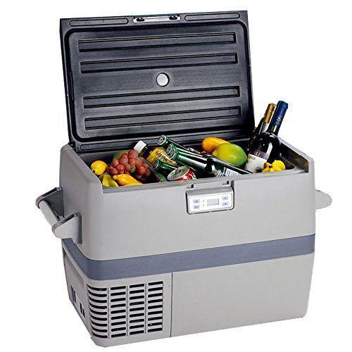 Smeta 49l 110v 12v Truck Refrigerator Freezer Car Cooler Car Refrigerator Portable Refrigerator Compressor