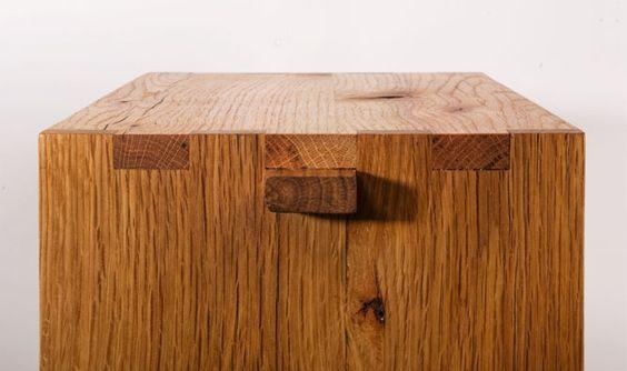 Dzierlenga F+U Wooden Stools - Kaufmann Mercantile